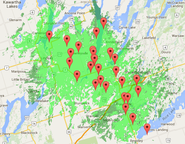 Coverage Map Wireless - GoldenruralGoldenrural on